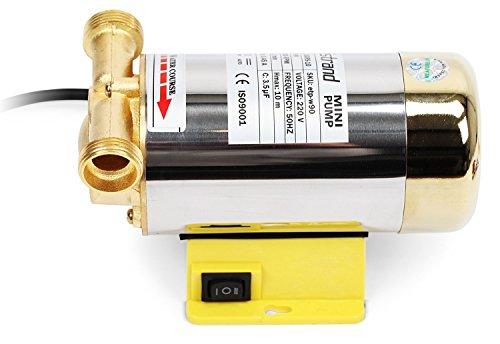 Nordstrand 90w Water Pressure Booster Pump For Shower Home Garden Washing Machine Inline